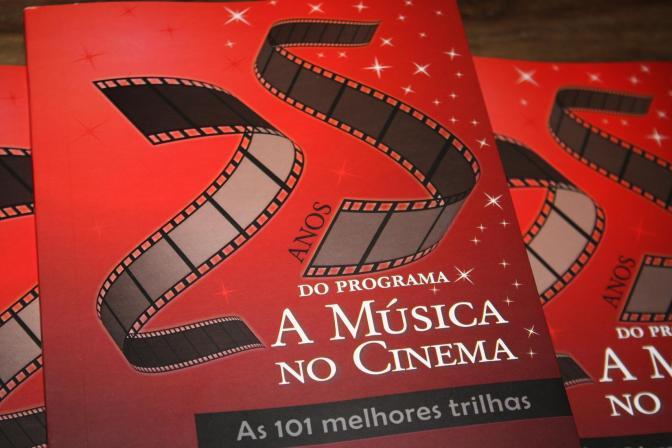 A capa do livro As 101 Trilhas de A MÚSICA NO CINEMA