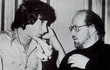 O jovem Steven Spielberg e John Williams