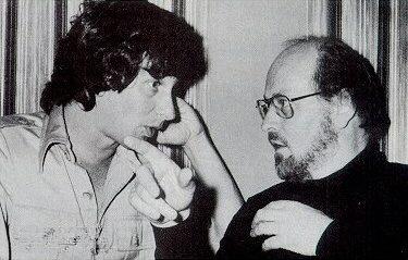 O jovem Steven Spielberg e John Williams