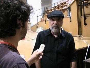 Poledouris em Úbeda, 2006, de suas últimas apartições