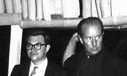 Monty Norman e Terence Young, o diretor de Dr. No