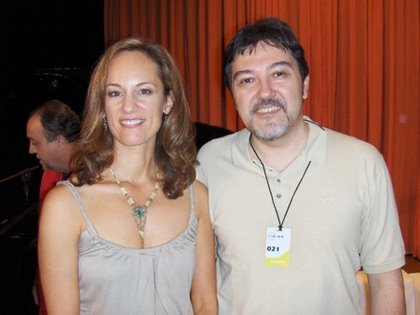 Lisbeth Scott e Jorge Saldanha