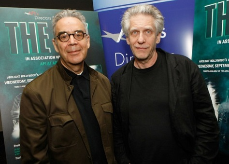 Howard Shore e Divid Cronenberg