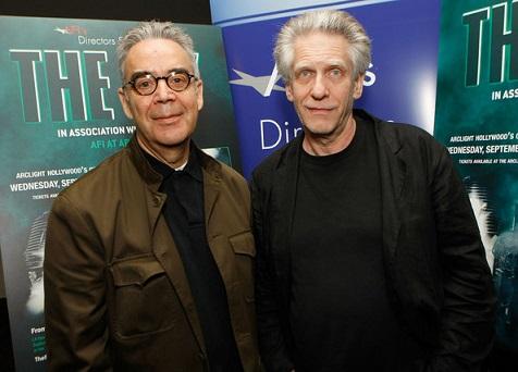 Howard Shore e Divid Cronenberg