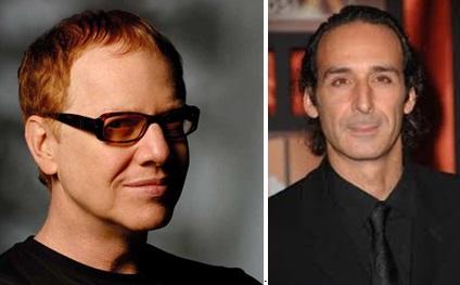 Danny Elfman e Alexandre Desplat