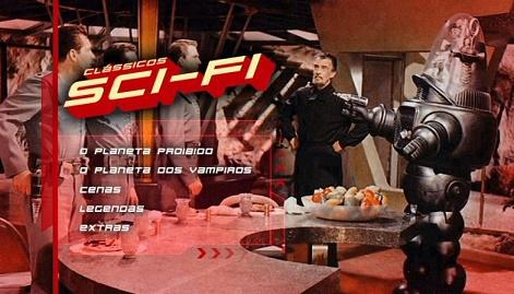 Resenha de DVD: CLÁSSICOS SCI-FI