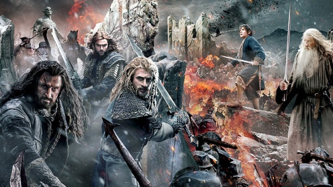 The-Hobbit-Battle-of-Five-Armies-tapestry